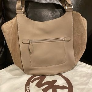 Michael Kors Collection Bags - Michael Kors Collection Tote: Leather and Suede